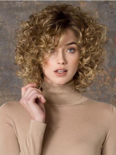 Prachtig Synthetische Blonde Lange Pruiken