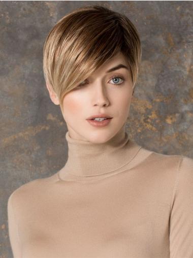 Blonde Steil Online Kleine Pruiken