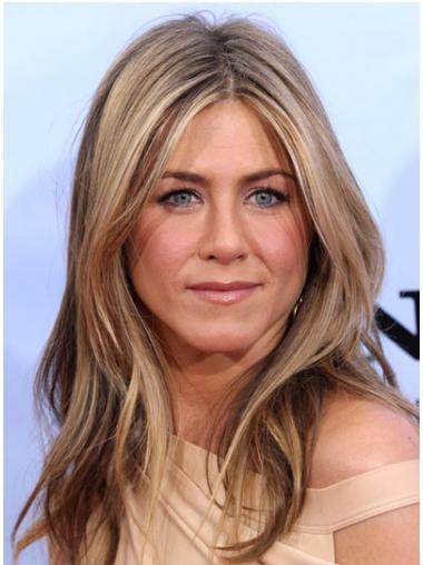 Lace Front Lang Elegant Jennifer Aniston Pruik