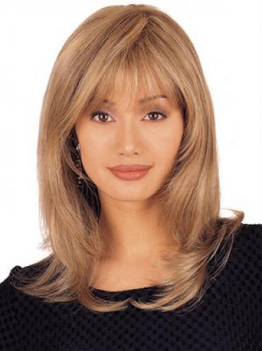 Natuurlijk Remy Naturrlijk Haar Blonde Lange Pruiken