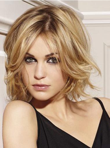 Braw Remy Naturrlijk Haar Blonde Korte Pruiken
