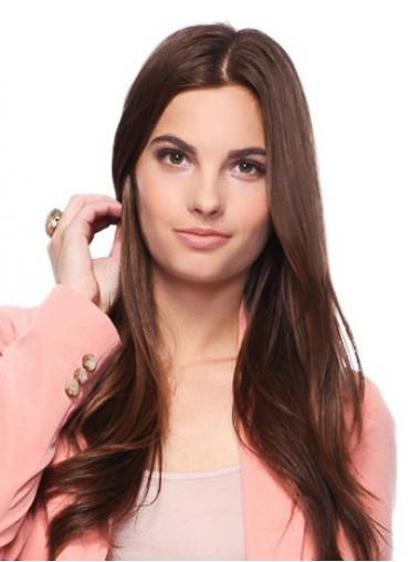 100% Handgeknoopt Lang Flexibiliteit Lace Pruik