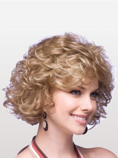 Blonde Halflang Preferentieel Klassiek Pruiken