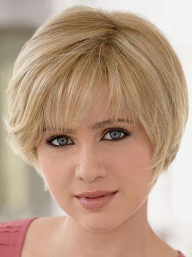 Ongelooflijk Remy Naturrlijk Haar Blonde Monofilament Pruiken