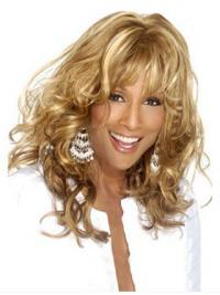 Lace Front Lang Verbazingwekkend Beverly Johnson Pruik