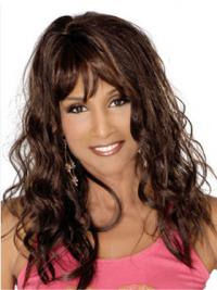 Full Lace Lang Ontworpen Beverly Johnson Pruik