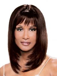 Lace Front Halflang Fabelachtig Beverly Johnson Pruik