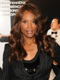 Lace Front Lang Flexibiliteit Beverly Johnson Pruik