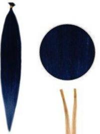 Prachtig Zwart Steil Stick/I Tip Extensions