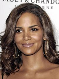 Full Lace Lang Preferentieel Halle Berry Pruik