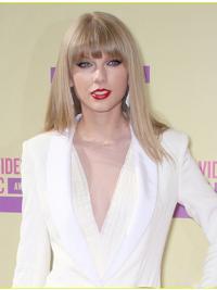 Blonde Halflang Preferentieel Taylor Swift Pruik