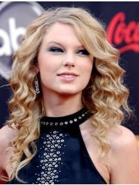 Blonde Lang Mooi Taylor Swift Pruik