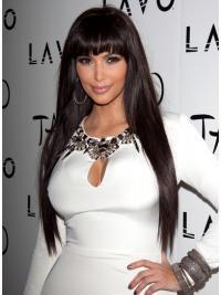 Lace Front Lang Verfijnd Kim Kardashian Pruik
