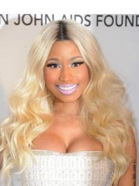 Blonde Lang Beste Nicki Minaj Pruik