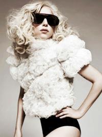 Lace Front Lang Rustgevend Lady Gaga Pruik