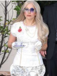 Lace Front Lang Koel Lady Gaga Pruik