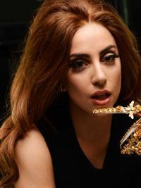 Lace Front Lang Betoverend Lady Gaga Pruik