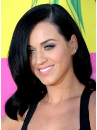 Lace Front Halflang Populair Katy Perry Pruik