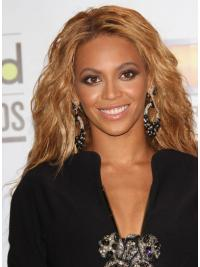Modieus Golvend Bruin Beyonce Pruik