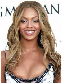 Flexibiliteit Golvend Blonde Beyonce Pruik