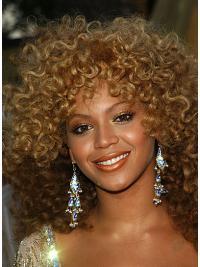 Goed Krullen,Stijl Blonde Beyonce Pruik