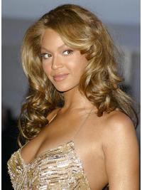 Groot Krullen Blonde Beyonce Pruik