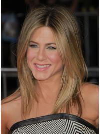 Blonde Halflang Populair Jennifer Aniston Pruik