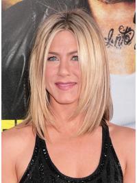 Lace Front Halflang Glad Jennifer Aniston Pruik
