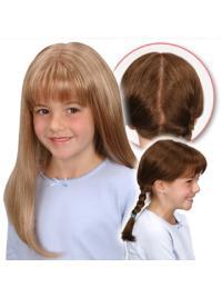 Blonde Steil Populair Kinderpruiken