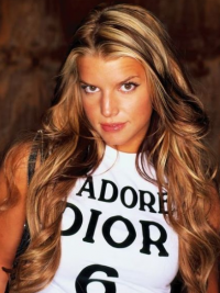 Lace Front Lang Beleefd Jessica Simpson Pruik
