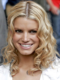 Lace Front Halflang Traditiona Jessica Simpson Pruik