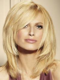 Preferentieel Remy Naturrlijk Haar Blonde Lange Pruiken