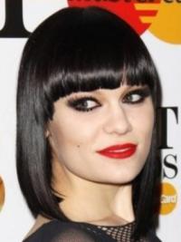 Zwart Halflang Verbazingwekkend Jessie J Pruik
