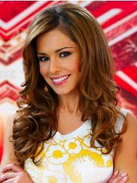 Bruin Lang Perfect Cheryl Cole Pruik