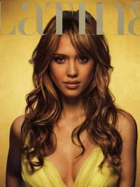 Lace Front Lang Goed Jessica Alba Pruik