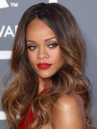 Lace Front Lang Aangenaam Rihanna Pruik