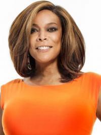 Lace Front Halflang Hoge kwaliteit Wendy Williams Pruik