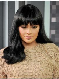 Lace Front Lang Elegant Kylie Jenner Pruik