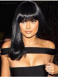 Lace Front Lang Geschikt Kylie Jenner Pruik