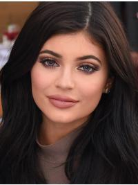 Lang Stralend Kylie Jenner Pruik